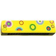 Woody Foukací harmonika žlutá