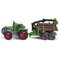 Siku Blister – Traktor s přívěsem na kulatinu