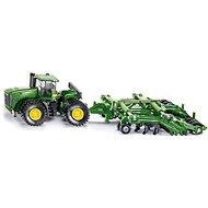Siku Farmer - Traktor John Deere 9630 s bránami Amazone Centaur