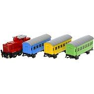 Siku Super - Železniční sada, lokomotiva + 3 vagonky