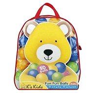 K's Kids Barevné míčky v PVC tašce