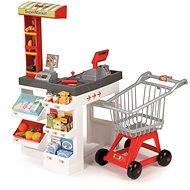 Supermarket bíločervený