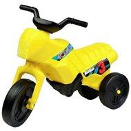 Motorka Enduro velká - žlutá