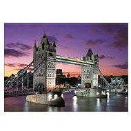 Noční Tower Bridge, Londýn