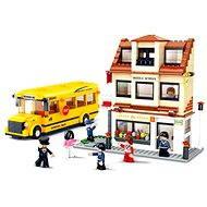Sluban Town - Autobus se školou