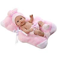 Teddies Panenka/miminko růžové pevné tělo