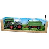 Mikro Trading Traktor s nakladačem a vlečkou