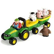 John Deere – Traktor se zvířátky