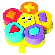 Playgro – Skládací puzzle květina s tvary