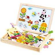 Bino Farma magnetická tabulka s puzzlemi