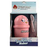 Zmzlinovač Angry Birds růžový