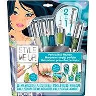 Style me up - Perfektní nehty 2v1 modro-zelené barvy