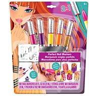 Style me up - Perfektní nehty 2v1 fialové barvy