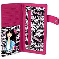 Color Freedom - Růžová peněženka