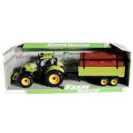 Traktor s valníkem