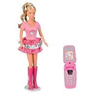 Simba Steffi - Oblečení Hello Kitty a mobilním telefonem