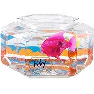 HEXBUG Aquabot LED s akváriem růžový