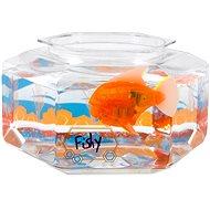 HEXBUG Aquabot LED s akváriem oranžový