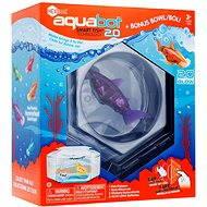 HEXBUG Aquabot LED s akváriem fialový