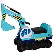 Dětský pásový bagr - modrý