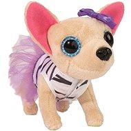 Simba ChiChi Love -  Čivava baletka zebrovaná s fialovými šaty