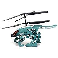 Vrtulník Heli Beast - Helirobot modro - zelený