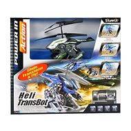 Vrtulník Heli Beast - Heli Transbot - Helikoptéra s bombou zeleno-černý