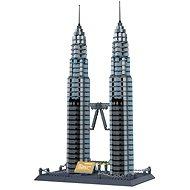 3D Puzzle Petronas věže