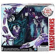 Transformers Rid - Souboj miniconů Decepticon Fracture & Airazor