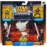 Star Wars Command - Minifigurky s vozidly Jedi duel