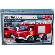 Monti system 16 - Fire Brigade Mercedes Unimog měřítko 1:48