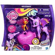 My Little Pony - Poník s kouzelnou klíčenkou a doplňky Twilight sparkle & Sunset breezie