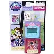 Littlest Pet Shop - Zvířátko s mini domečkem Sugar Sprinkles
