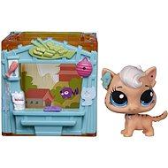 Littlest Pet Shop - Zvířátko s mini domečkem Meow Milkone