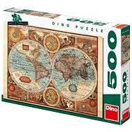 Dino Mapa světa z roku 1626