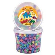 Maxi zažehlovací korálky - pastelová barvy