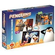 Tučňáci z Madagaskaru 3v1