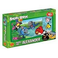 Angry Birds Rio - U vodopádu 160 dílků