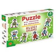 Puzzle pro nejmenší - Chlapci