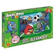 Angry Birds Rio - Maxi puzzle Vyhrajeme zápas! 20 dílků