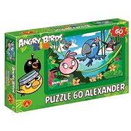 Angry Birds Rio - Voňavá džungle 60 dílků