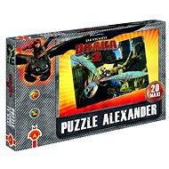 Jak vycvičit draka 2 - Maxi puzzle Hra na babu