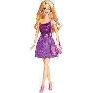 Mattel Barbie ve flitrových fialových šatech