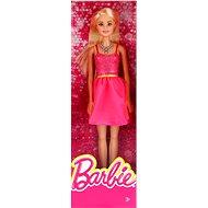 Mattel Barbie Blondýnka v růžových šatech