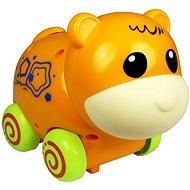 Jezdící zvířátko se zvuky - oranžové