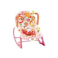 Fisher-Price - Sedátko od miminka po batole růžové