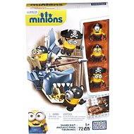 Mattel Fisher Price Mega Bloks - Tématické postavičky Mimoni Shark Bait