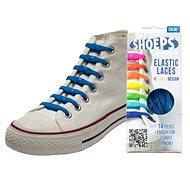 Shoeps - Silikonové tkaničky sky blue
