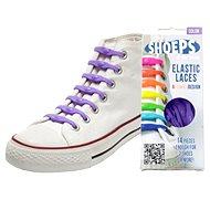 Shoeps - Silikonové tkaničky purple