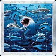 Piatnik 3D Magnetické puzzle Žraloci